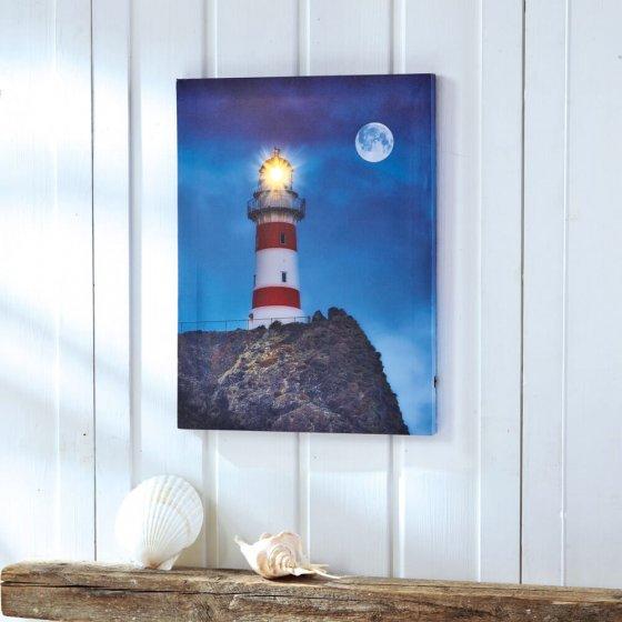 "Décoration murale LED  ""phare"""