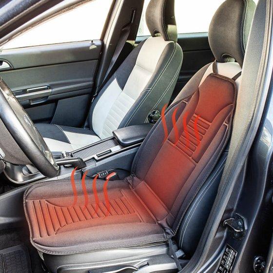 Coussin chauffant pour siège auto