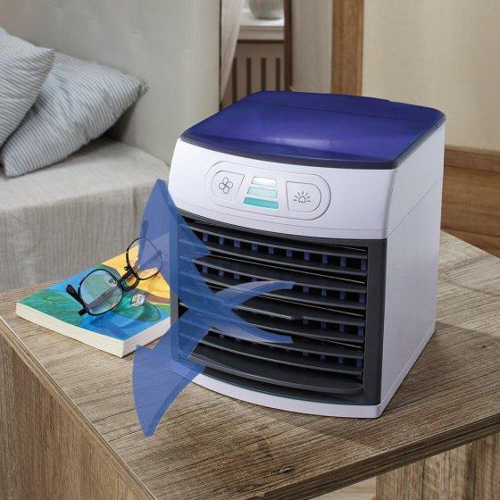 Mini climatiseur avec lumière d'ambiance