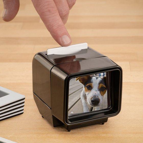 Visionneuse de diapositives à LED