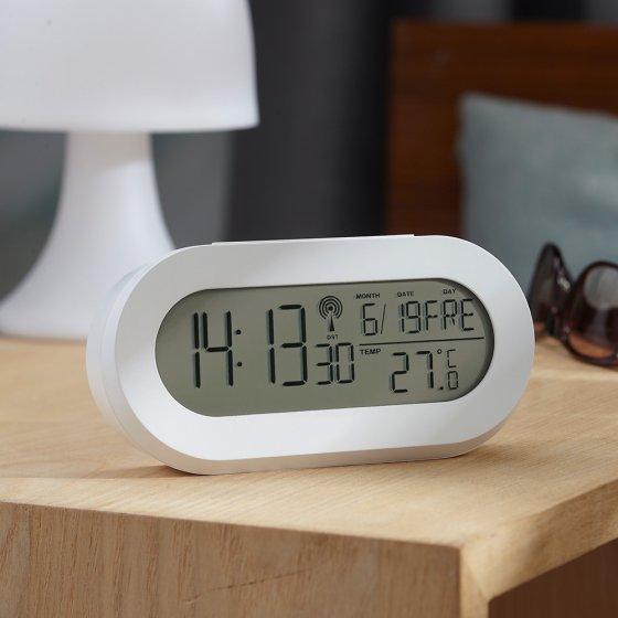 "Horloge radio-pilotée  ""white dream"""