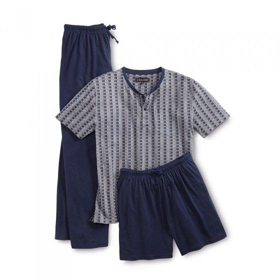 Pyjama 3 pièces en jersey