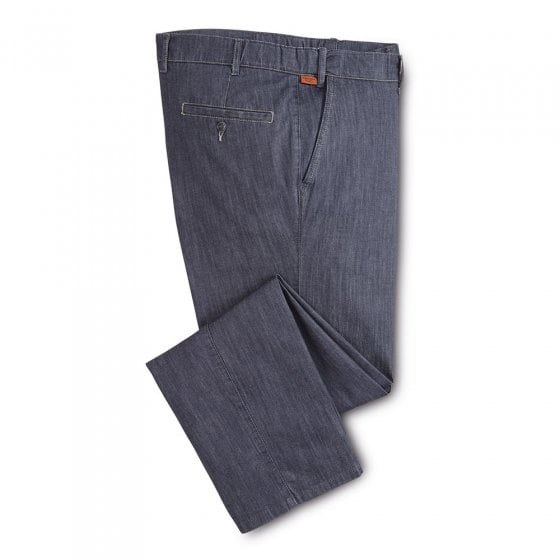 Jean léger taille extensible