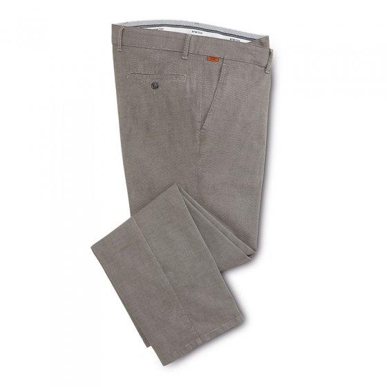 Pantalon coton style moderne 22 | Gris#beige