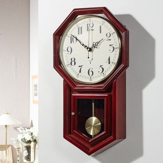"Horloge murale radio-pilotée  ""Régulateur"""