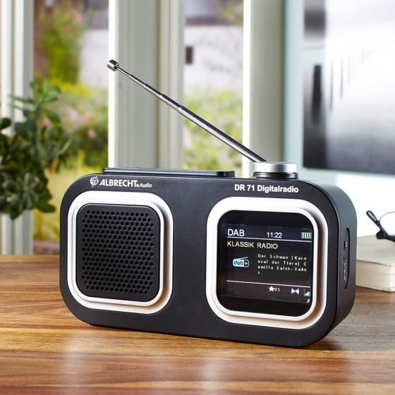 Radio compacte DAB+/FM Albrecht