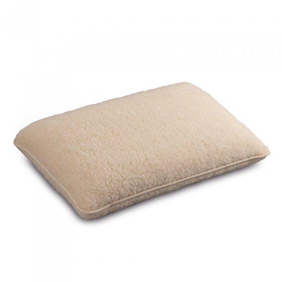 Oreiller cervical en laine vierge