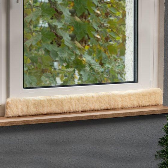 Boudin de fenêtre en laine vierge