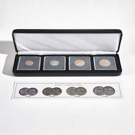 """Série de pièces de monnaie  """"Preussen-Pfennig"""""""