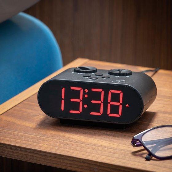 Réveil numérique radiocommandé