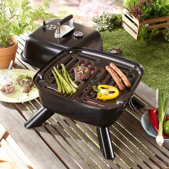 Barbecue hybride portable