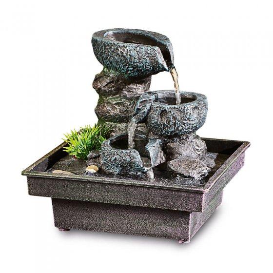 """Fontaine d'intérieur  """"jardin de rocaille"""""""