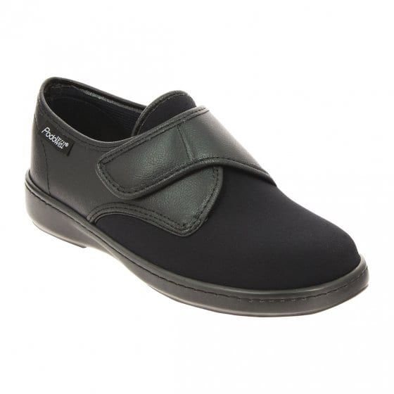 Chaussures confort extra larges 43 | Noir