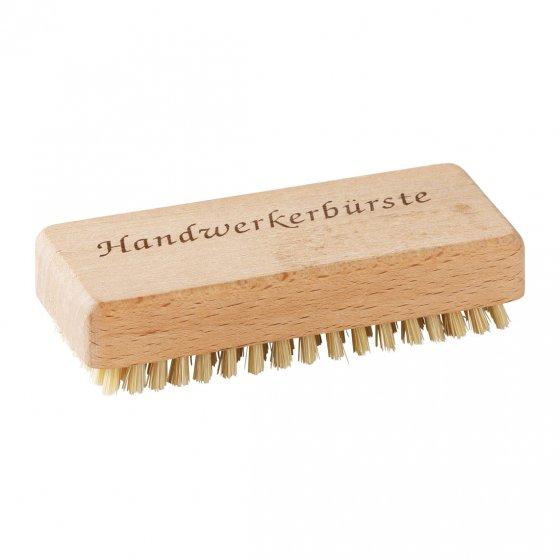 Brosse à ongles en bois avec inscription
