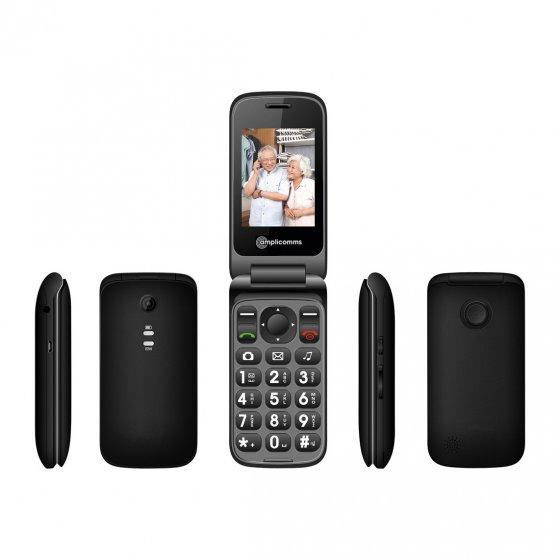 Téléphone portable pliant à grandes touches