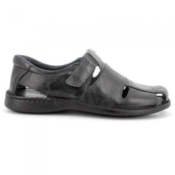 Chaussures homme à patte auto-agrippante 46 | Noir