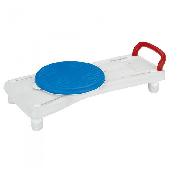 Planche de bain avec siège rotatif