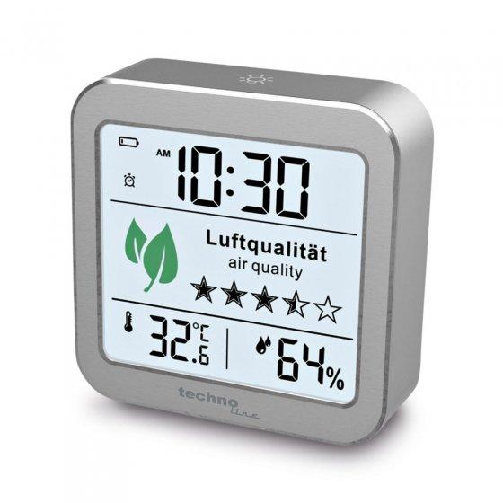 Réveil avec moniteur de qualité d'air