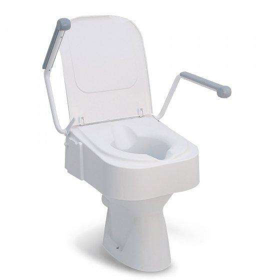 Réhausseur de toilettes avec accoudoir