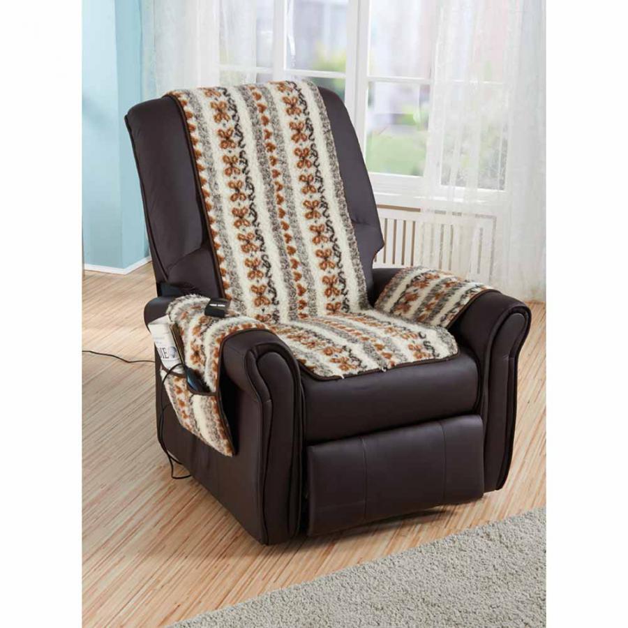 Housse de fauteuil en laine vierge folklore achetez ce produit housse de f - Housse fauteuil main ...