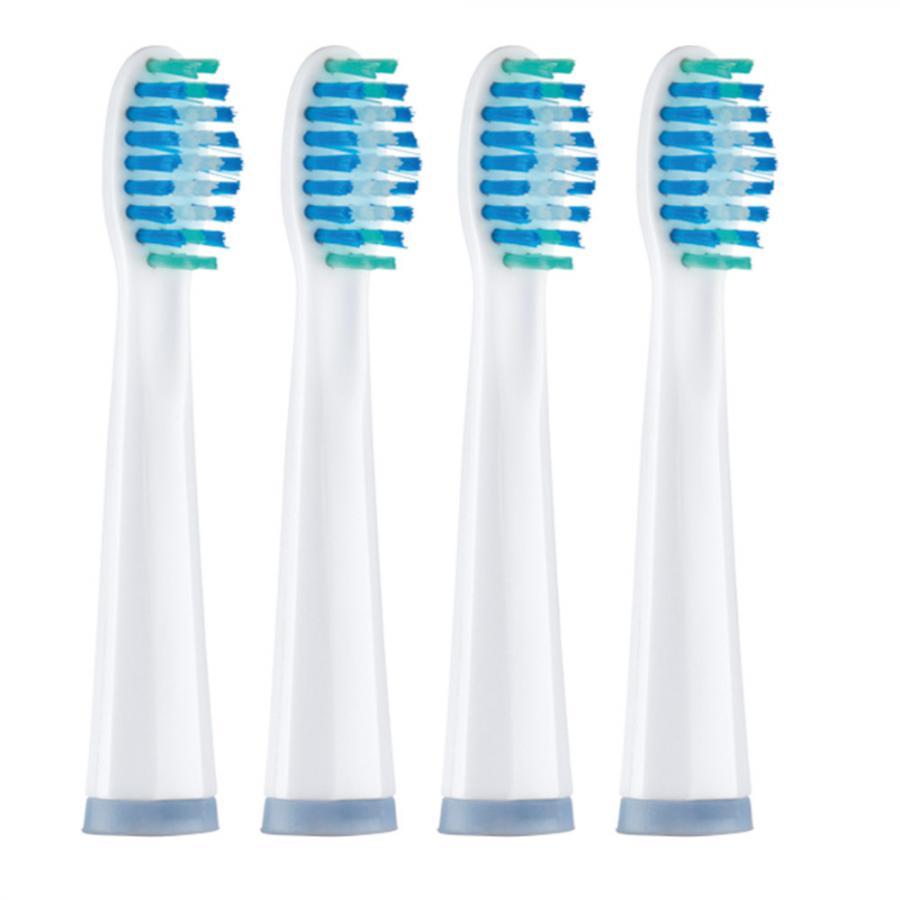 brosse dents lectrique sonique lot de 4 achetez ce produit brosse dents lectrique. Black Bedroom Furniture Sets. Home Design Ideas
