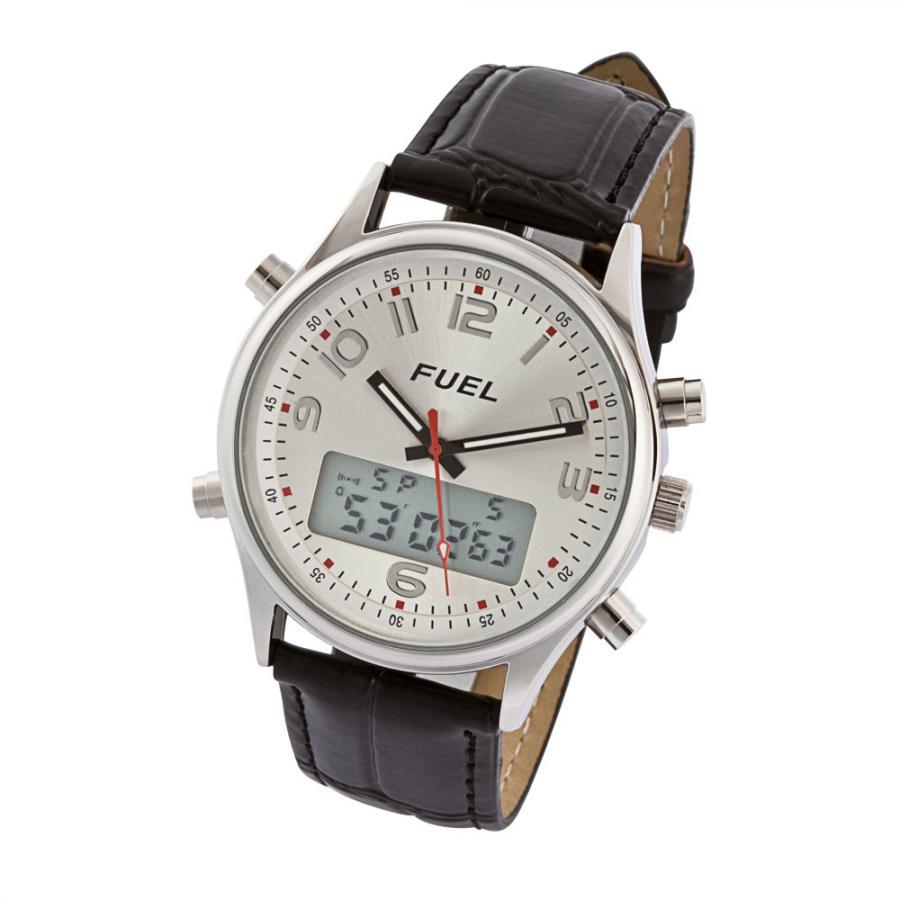 la montre analogique et num rique fuel achetez ce produit la montre analogique et. Black Bedroom Furniture Sets. Home Design Ideas