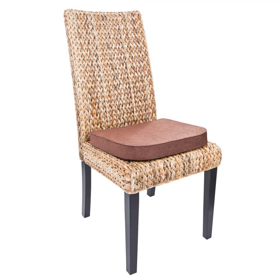 coussins de chaises m moire de forme lot de 2 achetez ce produit coussins de chaises. Black Bedroom Furniture Sets. Home Design Ideas
