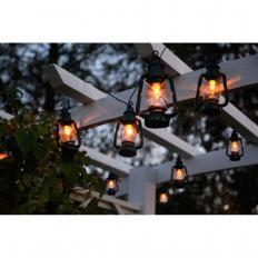 """Guirlande lumineuse """"lanternes à huile"""" à LED-2"""