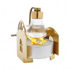 """Mini machine à vapeur plaquée or """"Kotten""""-2"""