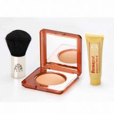 Kit de maquillage avec trousse de voyage-2