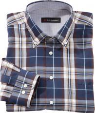 Chemise à carreaux en coton-2