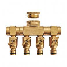 Raccord de robinet à quatre sorties-2