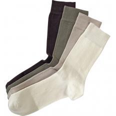 Chaussettes coton haute qualité par 8 paires-2