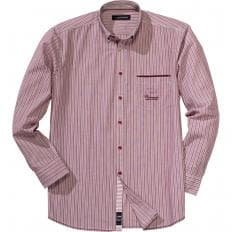 Chemise rayée sportive-2