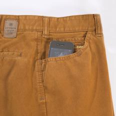 Pantalon en coton avec fini cachemire-2