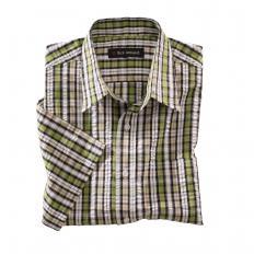 Chemise à carreaux en Seersucker-2