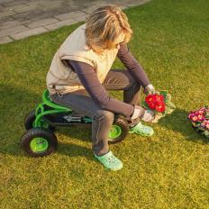 Siège de jardinage mobile avec bac de rangement-2