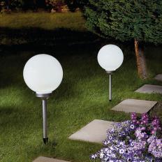 Lampe de jardin solaire à LED XXL-2