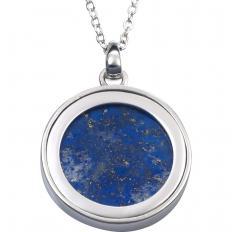 Collier arbre de vie en lapis-lazuli-2