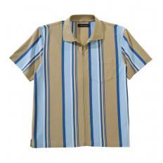 Polo jersey entièrement zippé-2