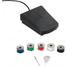 Mini machine à coudre électrique-2