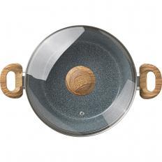 Batterie de cuisine en céramique aspect granit Lot 7 pièces -2