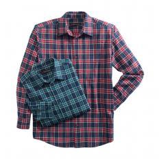 Chemise de flanelle à carreaux-2