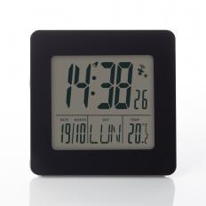 Réveil radio-piloté avec affichage de la température-2