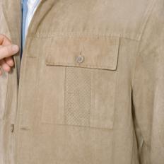 Veste-chemise en microskin-2