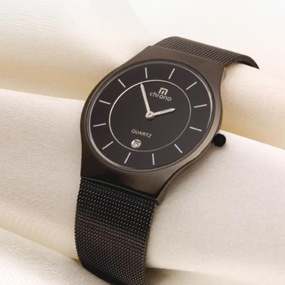 montre homme noire ultra plate achetez ce produit montre homme noire ultra plate en toute. Black Bedroom Furniture Sets. Home Design Ideas