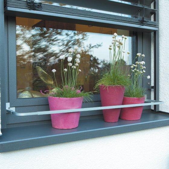 Charmant Delightful Support Jardiniere Pour Fenetre #11: Jardinière Sécurisée Pour  Rebord De Fenêtre Sans Garde-corps Ni Barre De Fenêtre