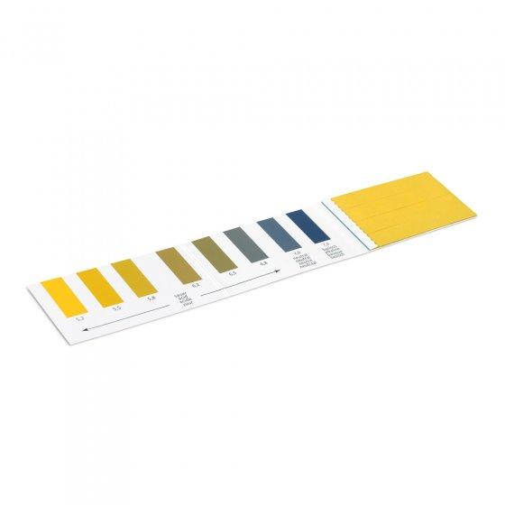 Bandelettes de test du pH urinaire - Lot de 16