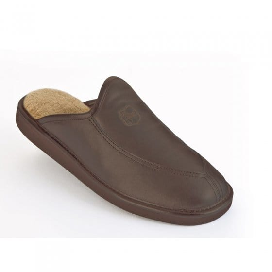 Chaussons luxe en cuir « ultra légers »