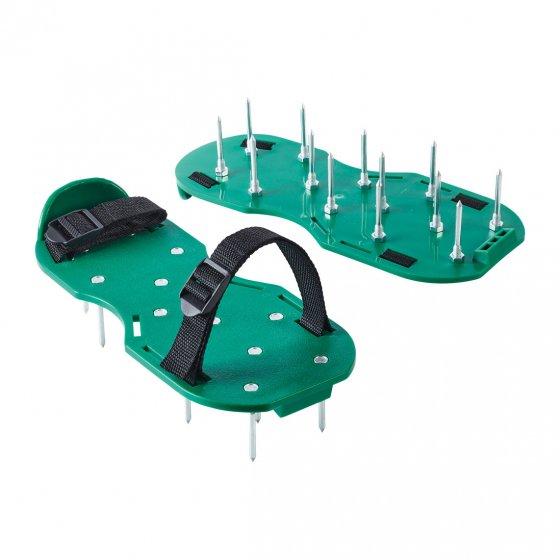 Patins aérateurs de gazon 1 paire